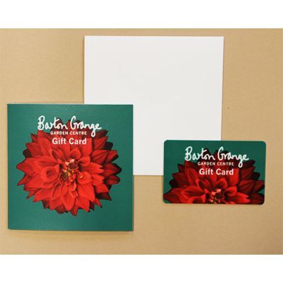 £50 Red Dahlia Design Gift Card - image 2